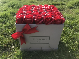 Flower Box - Red